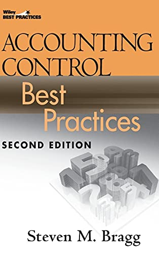 9780470405420: Accounting Control Best Practices