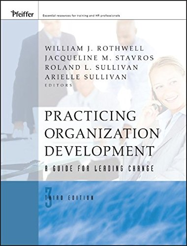 9780470405444: Practicing Organization Development: A Guide for Leading Change
