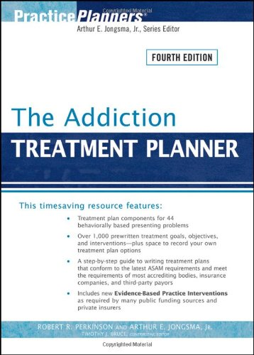 9780470405512: The Addiction Treatment Planner (PracticePlanners)