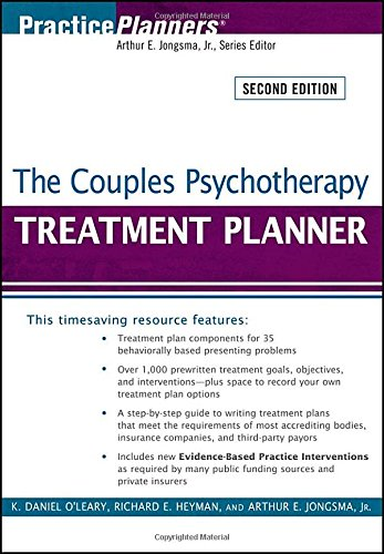 9780470406953: The Couples Psychotherapy Treatment Planner