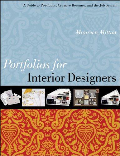 9780470408162: Portfolios for Interior Designers: A Guide to Portfolios, Creative Resumes, and the Job Search
