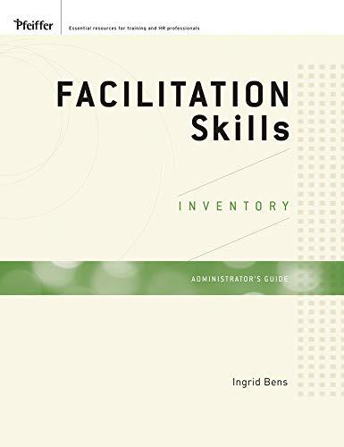 9780470408681: Facilitation Skills