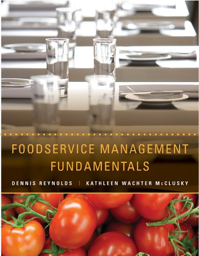 9780470409060: Foodservice Management Fundamentals