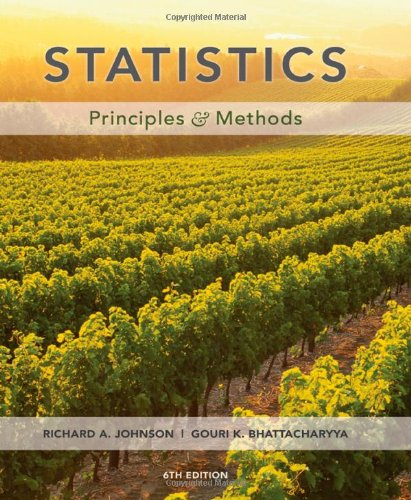 9780470409275: Statistics: Principles and Methods