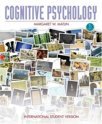 9780470409473: Cognitive Psychology