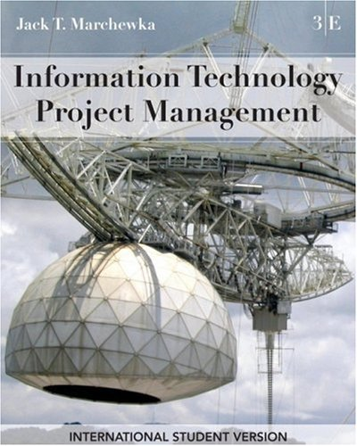 9780470409480: Information Technology Project Management with CD-ROM: International Student Version