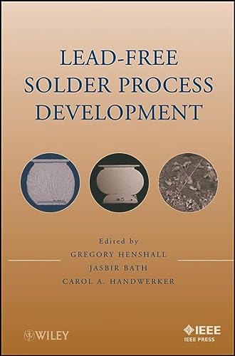 9780470410745: Lead-Free Solder Process Development