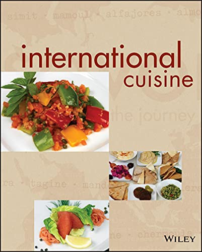 9780470410769: International Cuisine, (Unbranded)