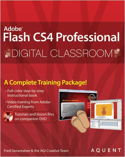 9780470410936: Adobe Flash CS4 Professional Digital Classroom [With DVD-ROM]