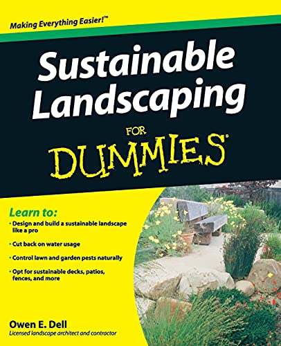 9780470411490: Sustainable Landscaping For Dummies