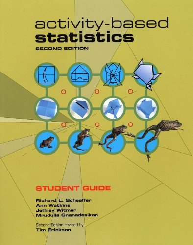 9780470412091: Activity-Based Statistics, Student Guide