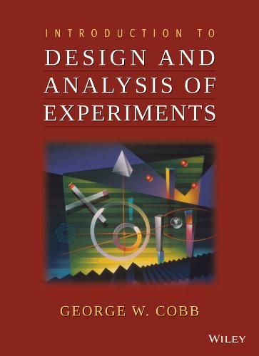 9780470412169: Introduction to Design and Analysis of Experiments