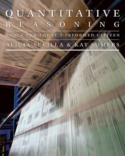9780470412329: Quantitative Reasoning: Tools for Today's Informed Citizen (Key Curriculum Press)