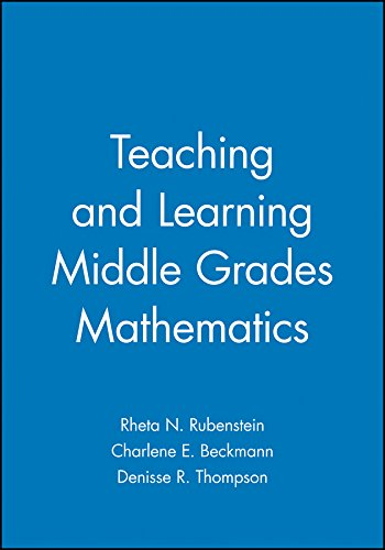 9780470412534: Teaching and Learning Middle Grades Mathematics (Key Curriculum Press)