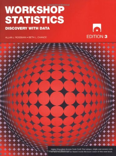 9780470412664: Workshop Statistics: Discovery with Data
