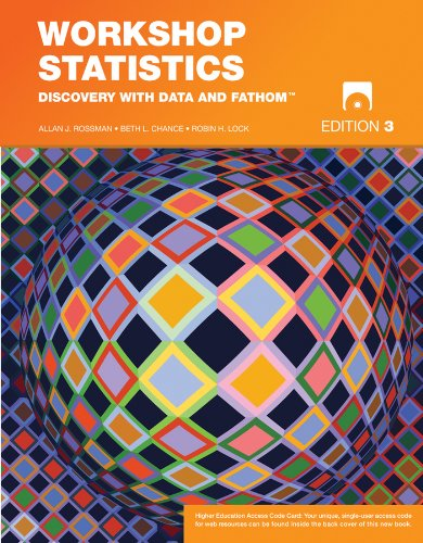 9780470412701: Workshop Statistics: Discovery with Data and Fathom (Key Curriculum Press)