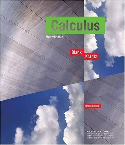 9780470413180: Calculus Multivariable, with Access Code Student Package, Debut Edition (Key Curriculum Press)