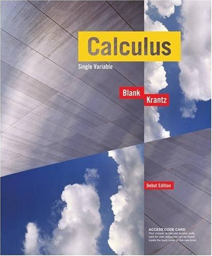 9780470413197: Calculus Single Variable, with Access Code Student Package, Debut Edition (Key Curriculum Press)