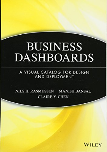 Business Dashboards : A Visual Catalog for: Rasmussen; Nils Rasmussen;