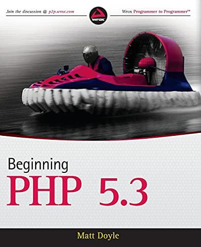 9780470413968: Beginning PHP 5.3