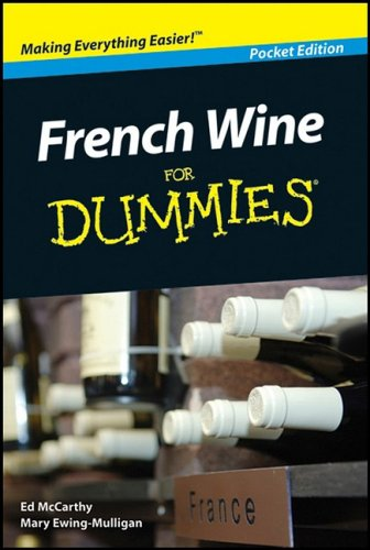 9780470414293: French Wine for Dummies Pocket Edition (French Wine for Dummies Pocket Edition)