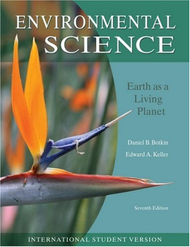 9780470414385: Environmental Science: Earth as a Living Planet, International Student Vers