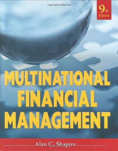 9780470415016: Multinational Financial Management