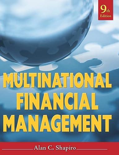 9780470415016: Multinational Financial Management