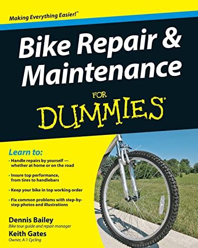 9780470415801: Bike Repair & Maintenance for Dummies