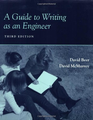 9780470417010: A Guide to Writing as an Engineer
