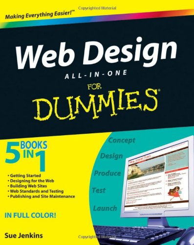 9780470417966: Web Design All-in-one For Dummies