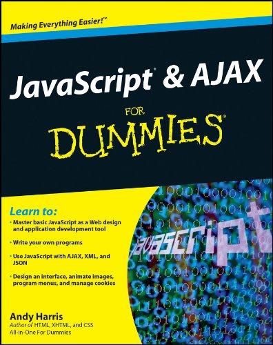 9780470417997: Javascript & Ajax for Dummies