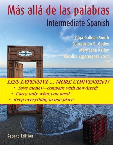 9780470418024: Mas alla de las palabras with accompanying Audio CD (Spanish Edition)