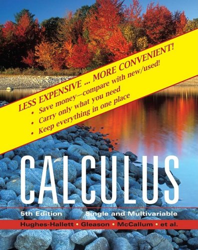 9780470418055: Calculus: Single and Multivariable