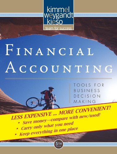 9780470418239: Financial Accounting: Tools for Business Decision Making, 5th Edition Binder Ready Version