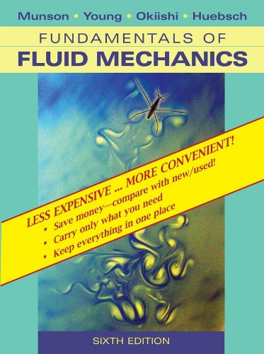 9780470418253: Fundamentals of Fluid Mechanics, 6th Edition Binder Ready Version