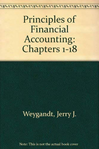 9780470418314: Principles of Financial Accounting Chapters 1-18, Ninth Edition Binder Ready Version