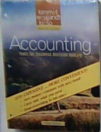 9780470418338: Accounting Tools for Business Decision Making (Binder Version)
