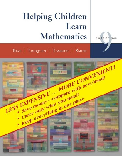 9780470418437: Helping Children Learn Mathematics, NinthEdition Binder Ready Version