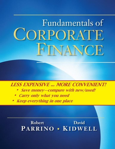 9780470418444: Fundamentals of Corporate Finance