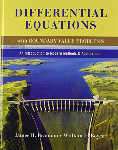 9780470418505: Differential Equations with Boundary Value Problems: An Introduction to Modern Methods and Applications