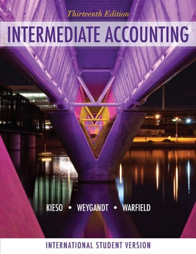 9780470418918: Intermediate Accounting