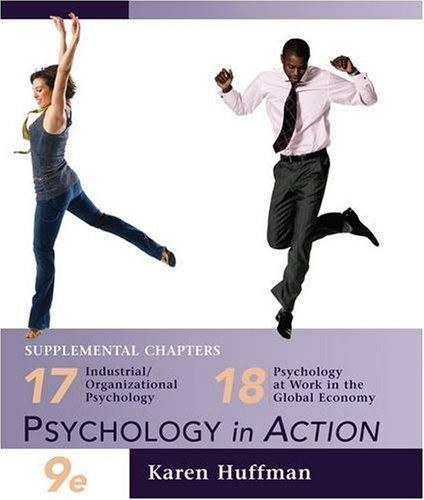 Chapters 17 and 18 of Psychology in: Karen Huffman