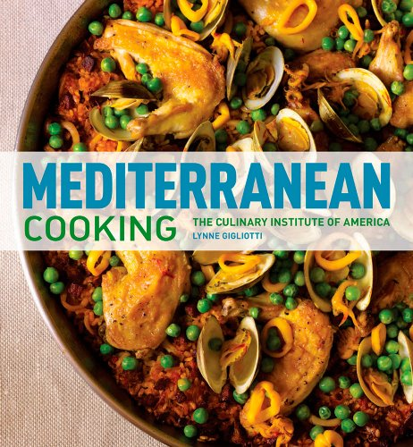 9780470421369: Mediterranean Cooking (at Home with The Culinary Institute of America)