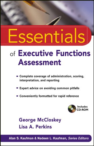 9780470422021: Essentials of Executive Functions Assessment