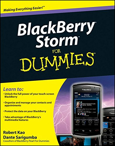 9780470422205: BlackBerry Storm For Dummies