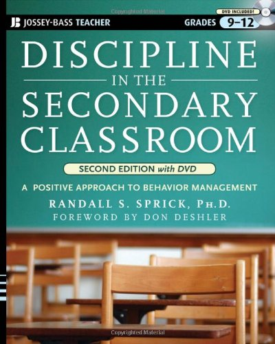 9780470422267: Discipline in the Secondary Classroom: A Positive Approach to Behavior Management, Second Edition with DVD