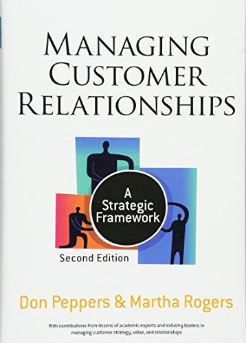 9780470423479: Managing Customer Relationships: A Strategic Framework