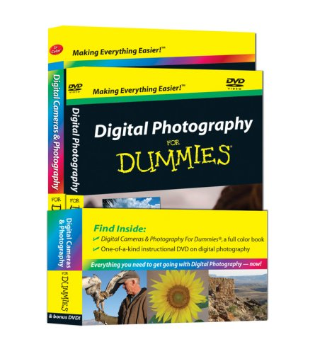 9780470423578: Digital Photography for Dummies, Special DVD Bundle