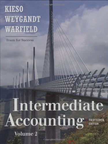 9780470423691: Intermediate Accounting, Volume 2 (Chapters 15-24)